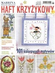 Журнал Sabrina. Haft krzyzykowy №1 2009