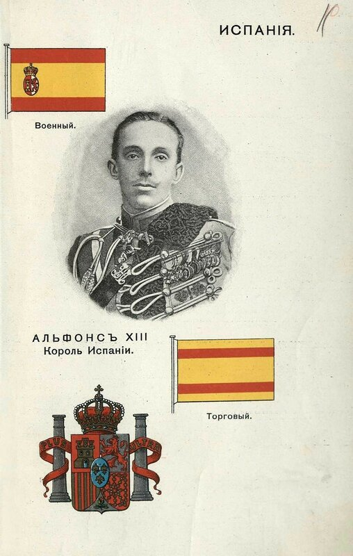 Испания. Альфонс ХIII, Король Испании