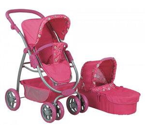 Кукольная коляска для куклы Buggy Boom 8062 розовая.jpg