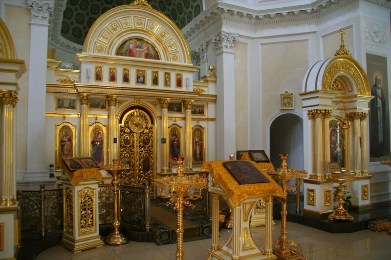Николо-Прозорово, Внутреннее убранство храма Николая Чудотворца