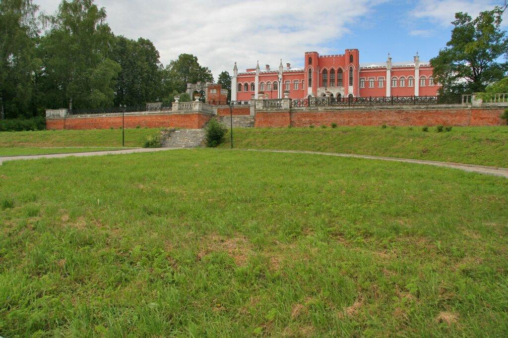 Марфино, Усадебный дом-дворец и партер