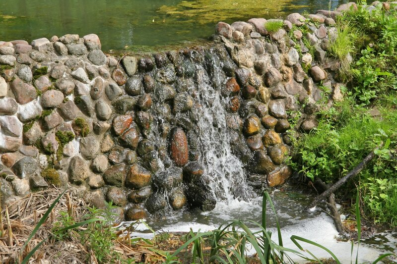 Марфино, Водопад