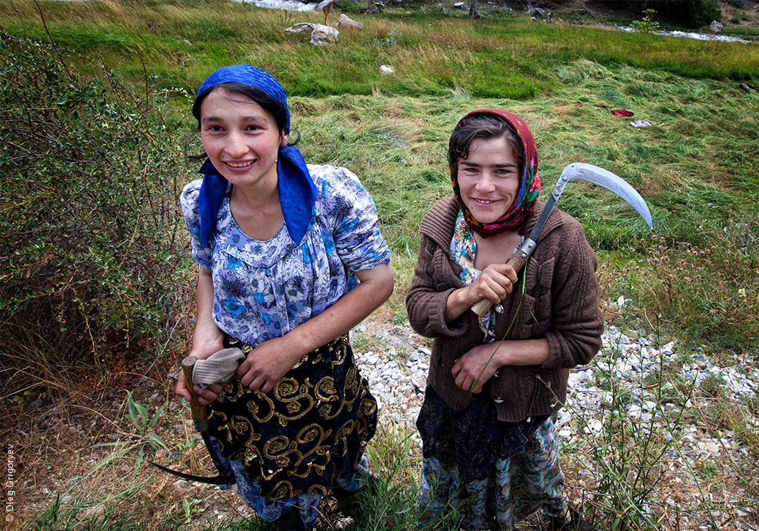 таджикские дети