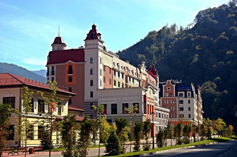 Отель Mercure Rosa Khutor 4*