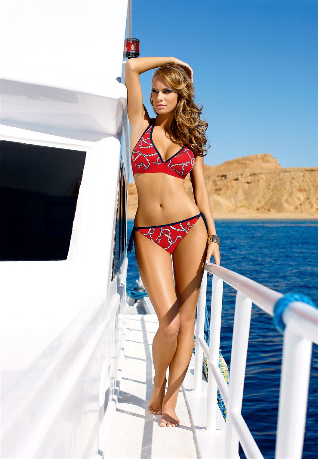 Евелина Ользак / Ewelina Olczak for Self Swimwear 2010-2011