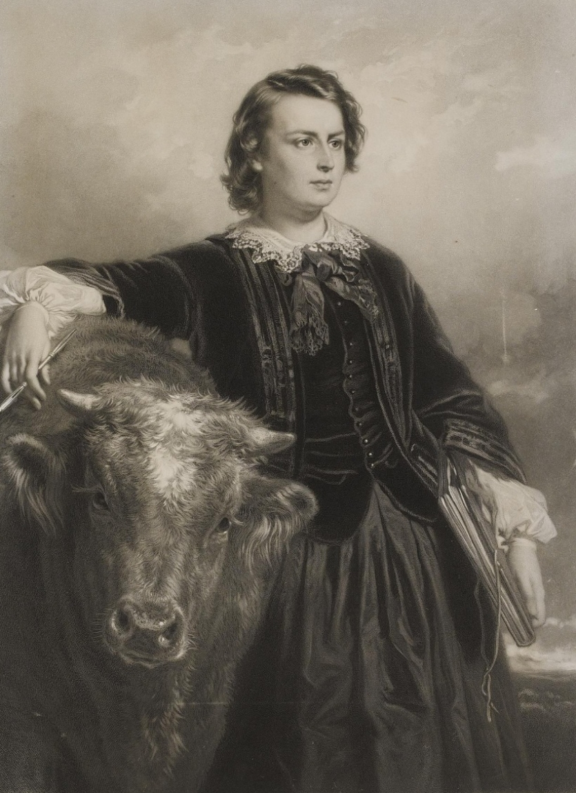 Портрет де Мари-Розали Бонер дите Rosa