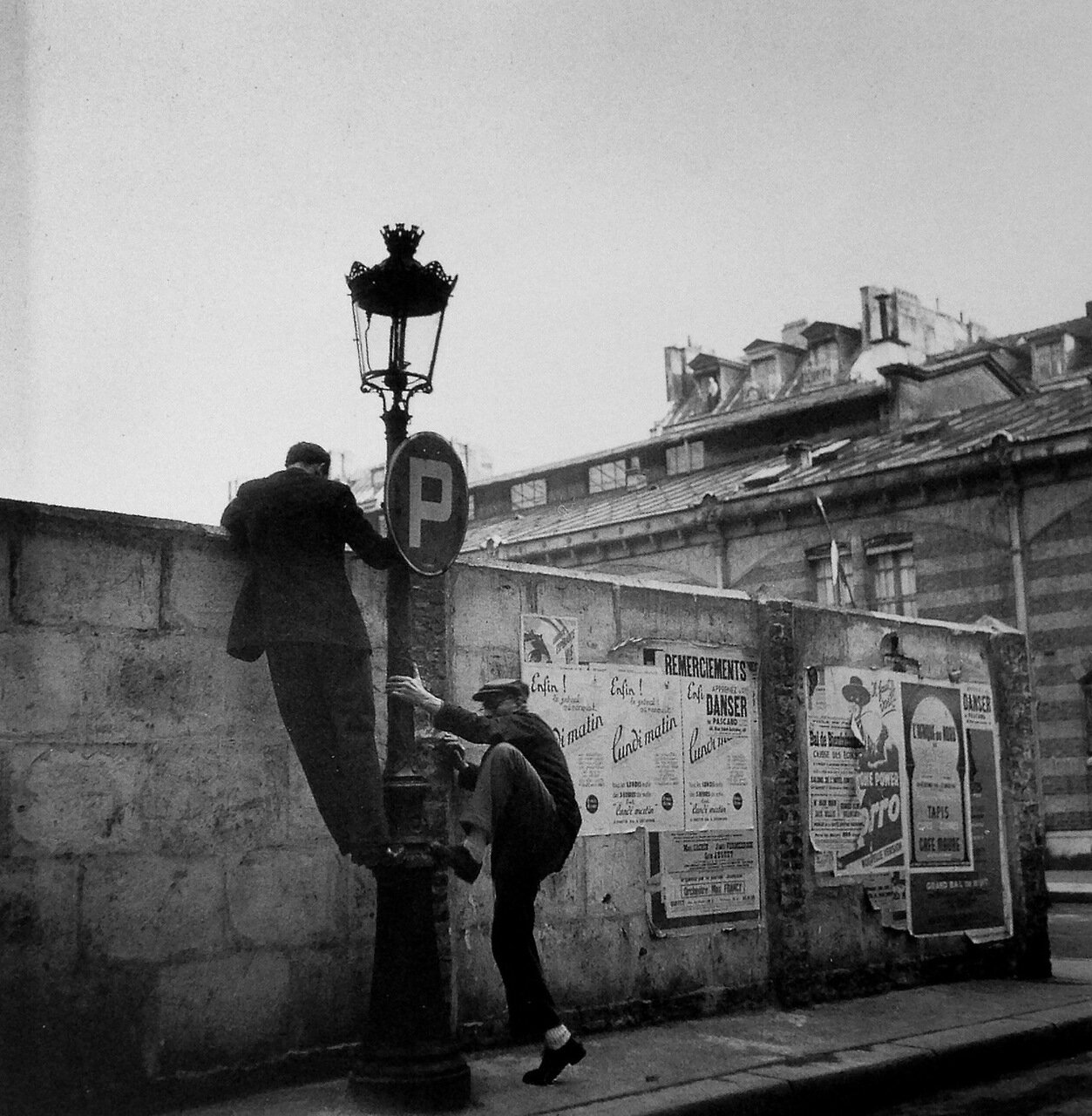 1945. Площадь дю Марше́-сант-Онорэ