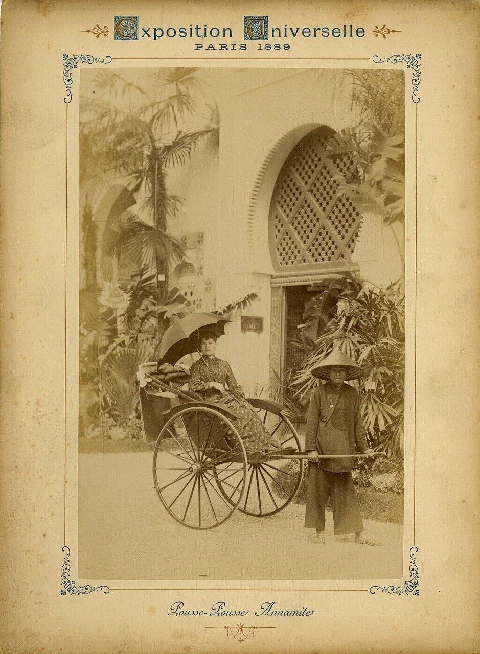 Аннамитский рикша