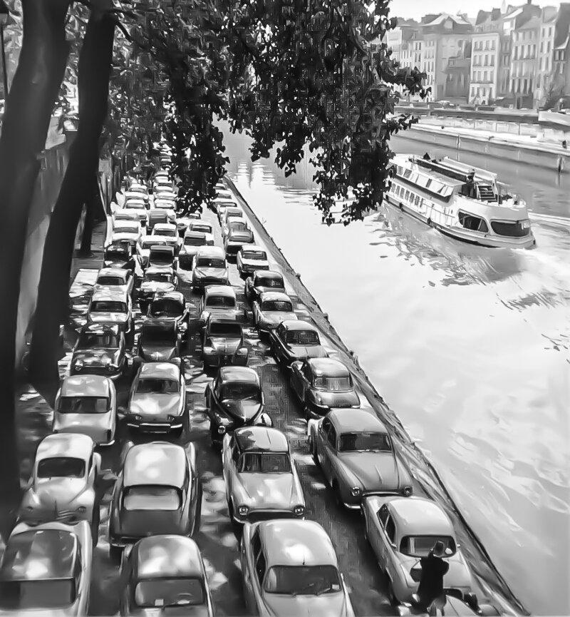 1954.Берега Сены
