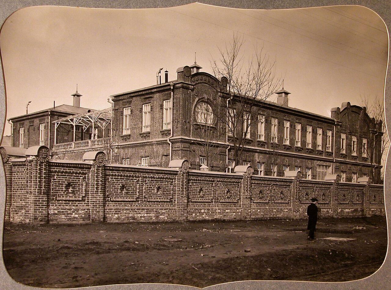 04. Вид здания общины и лазарета с юго-восточной стороны