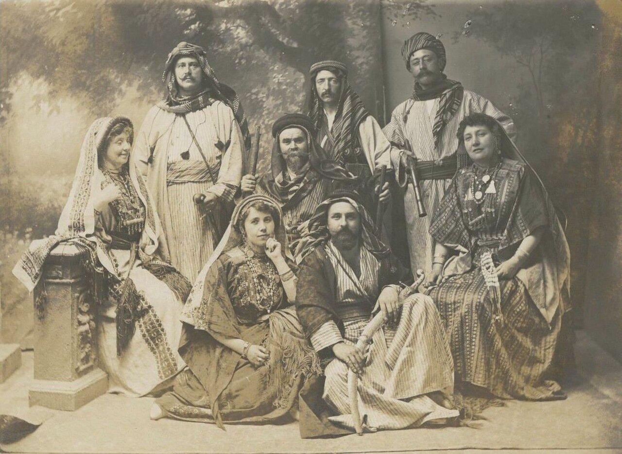 Жители Иерусалима. 1880.