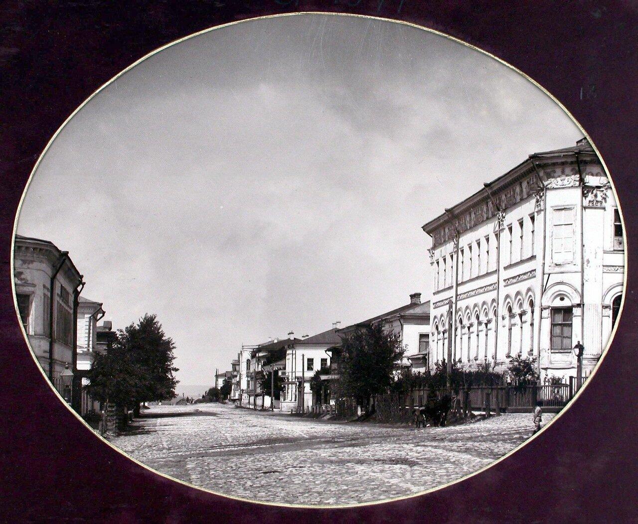07. Вид Казанской улицы со стороны здания реального училища имени Александра Благословенного
