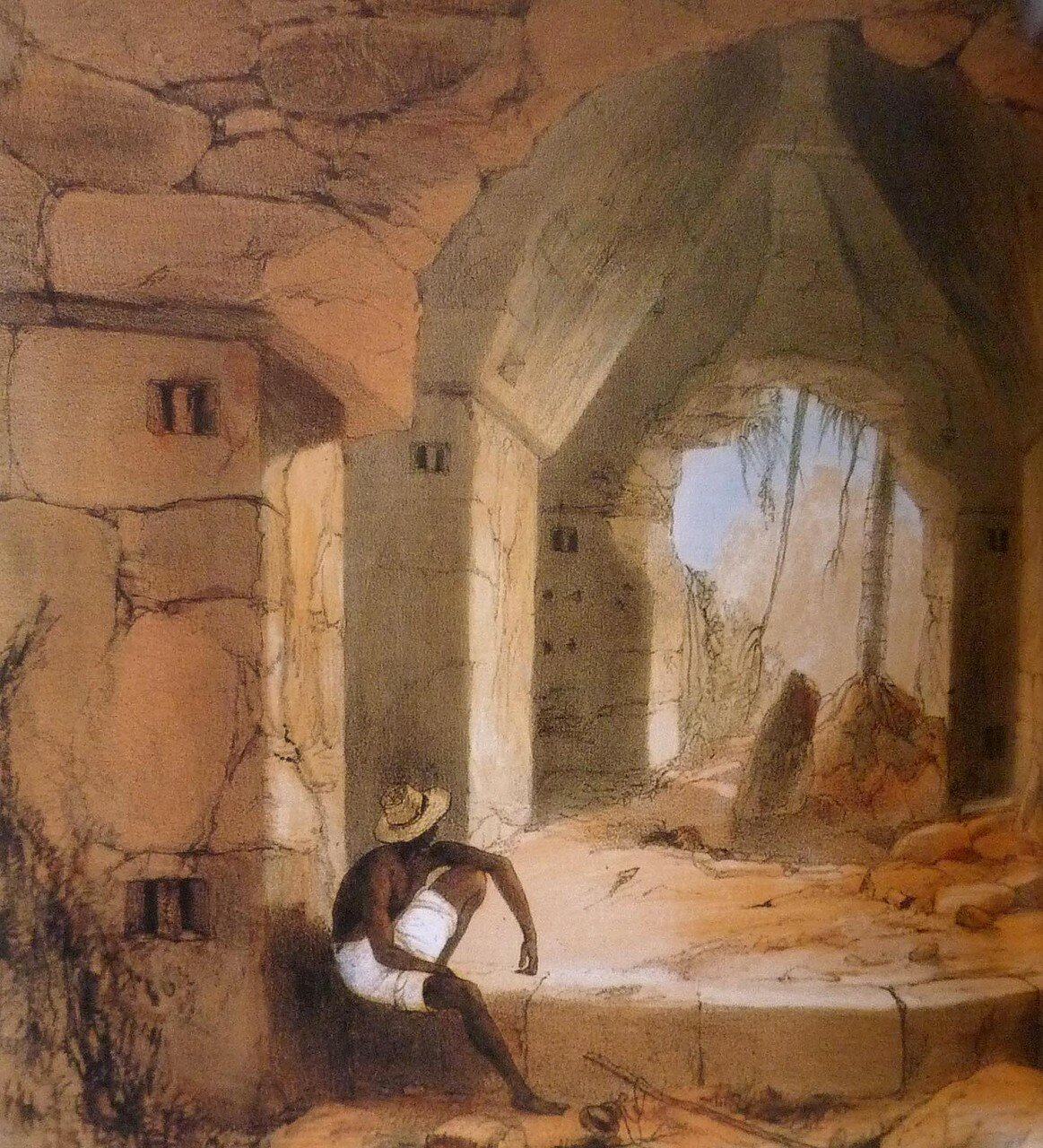 10. Кабах. Интерьер дворца № 3