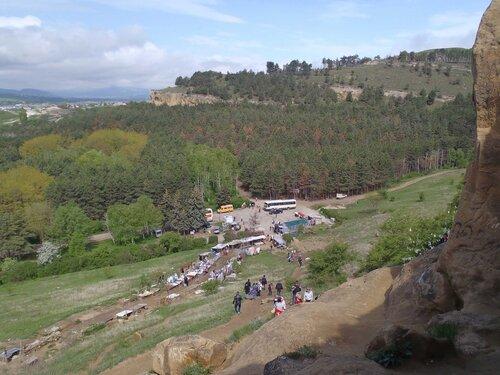 Вид на подножие горы Кольцо