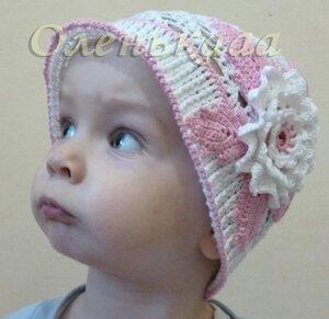 Летние вязанные шапочки,  шляпки и косынки 0_6c012_ef44f25_M