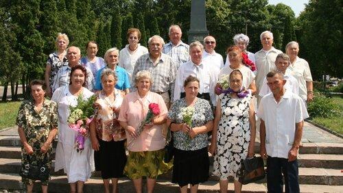 Зустрілися з юністю. Випускники 1956 року міської школи ім. Т.Г.Шевченка зустрілися через 55 років