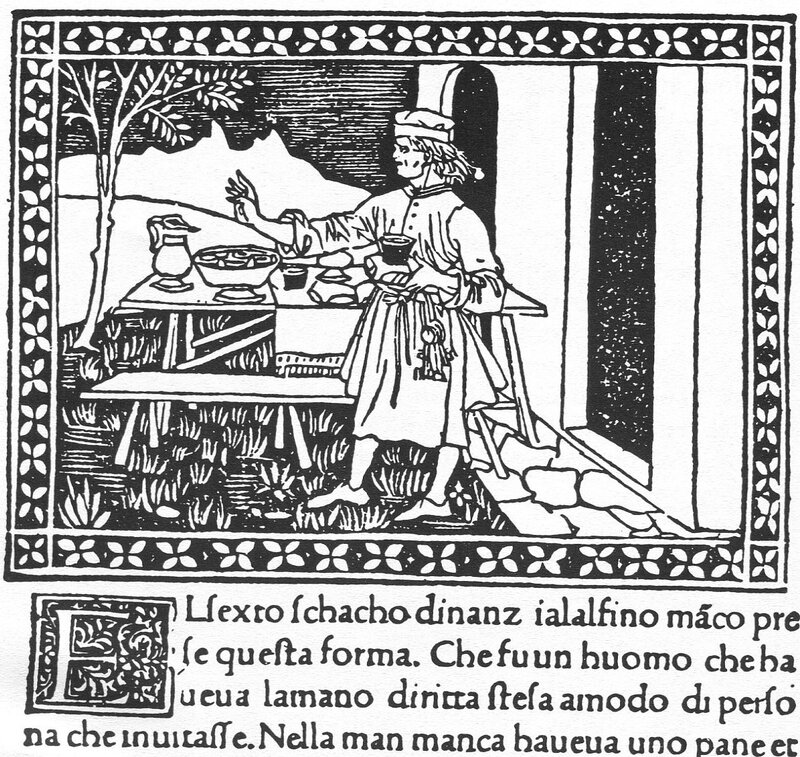 Liber scaccorum - трактирщик