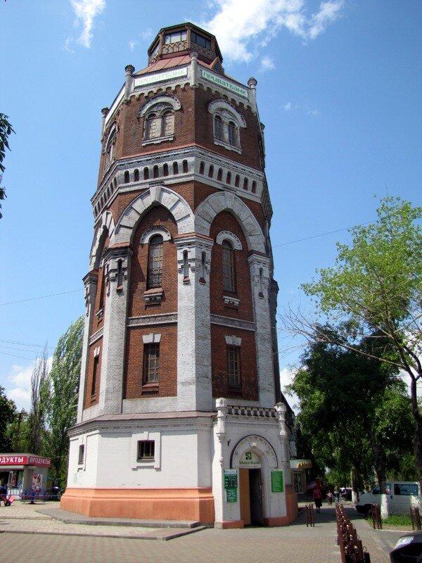 Водонапорная башня левый берег мариуполь