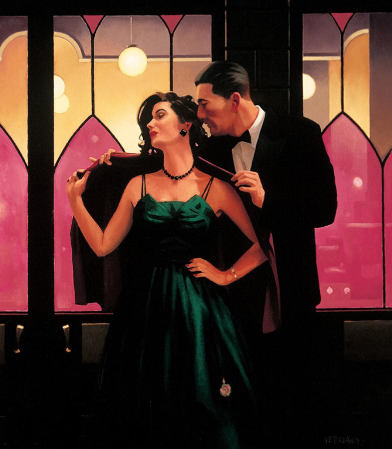 Words of Wisdom, by Jack Vettriano