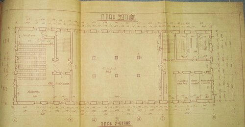 план 3 этажа казармы НКВД