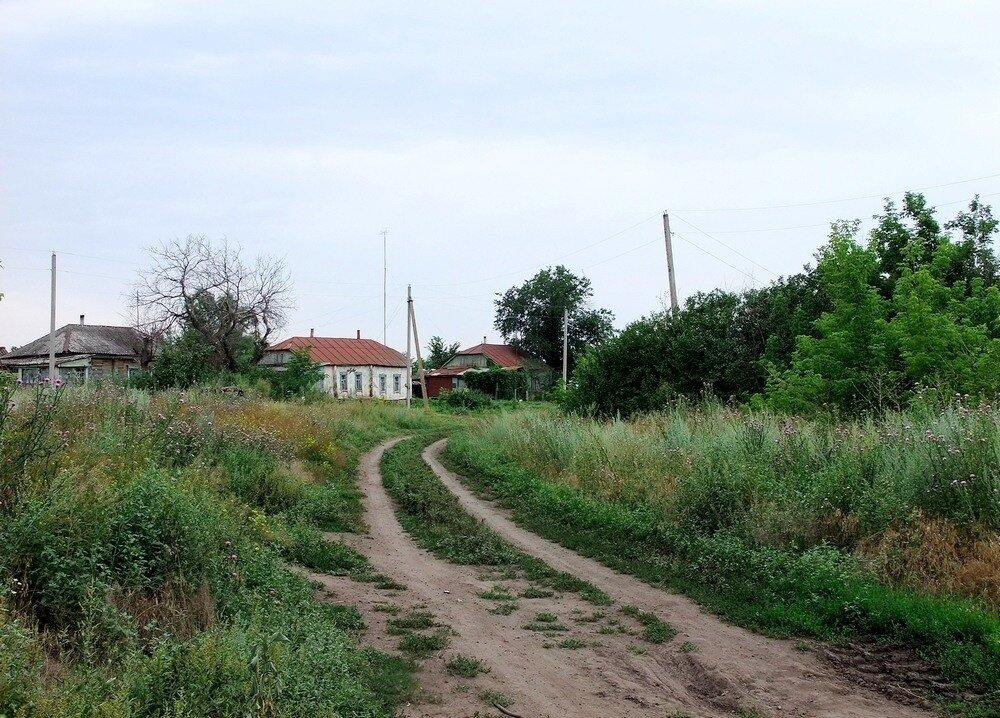 Дорога в Трескино.
