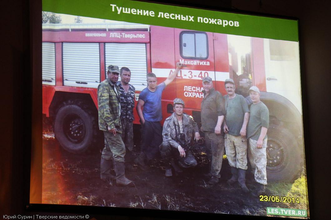 День работников леса, Тверь