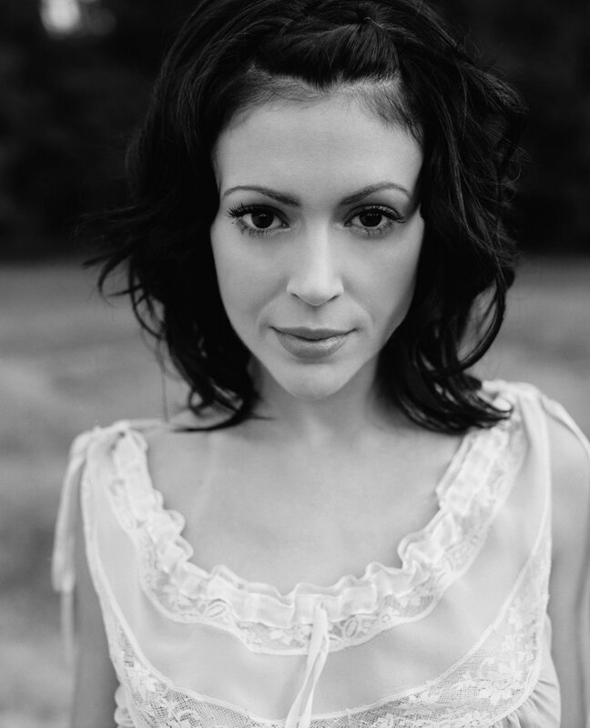 Alyssa Milano by Joe Pugliese 2003