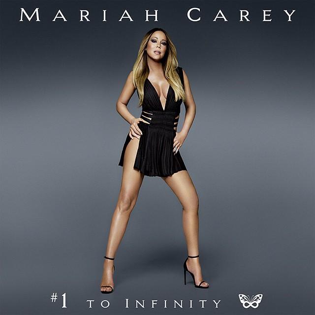 Обложка пластинки Мэрайи Кэри: минус 20 килограмм при помощи фотошопа
