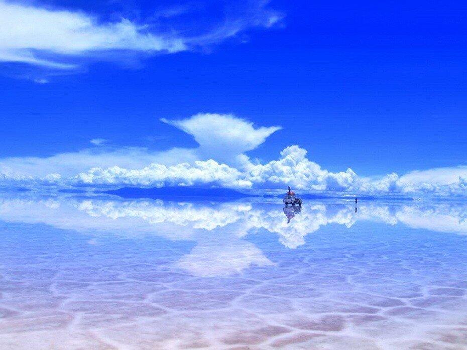 соляная пустыня Уюни