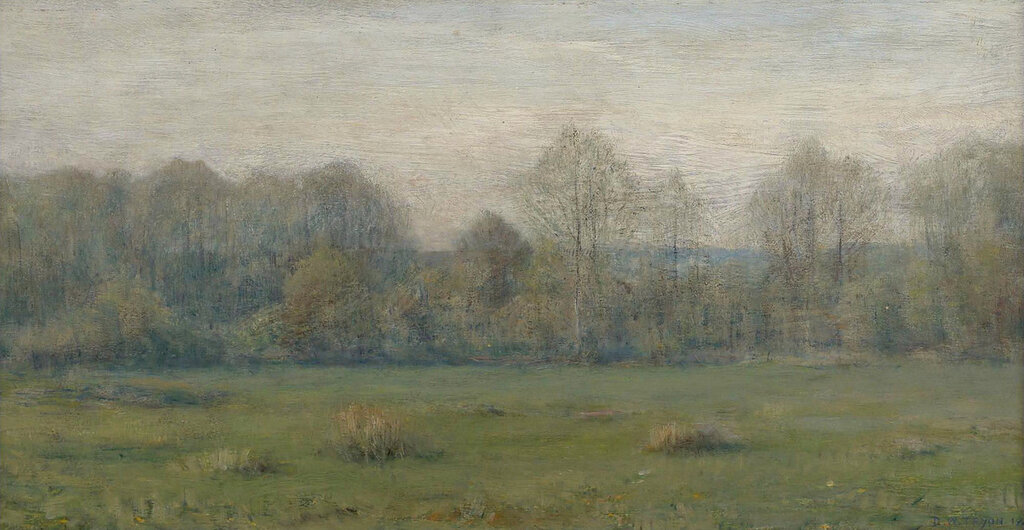 Dwight William Tryon - A Spring Morning, 1890s.jpeg