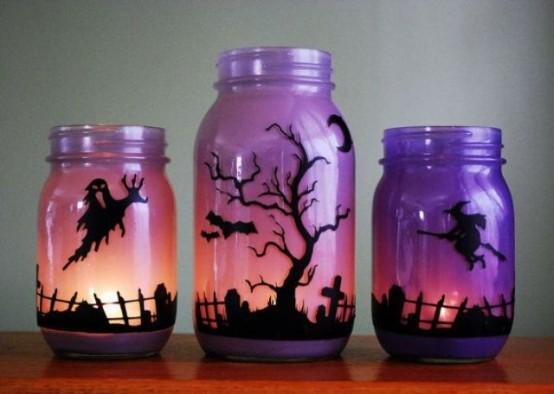 Осенний декор комнат к празднику Хэллоуин