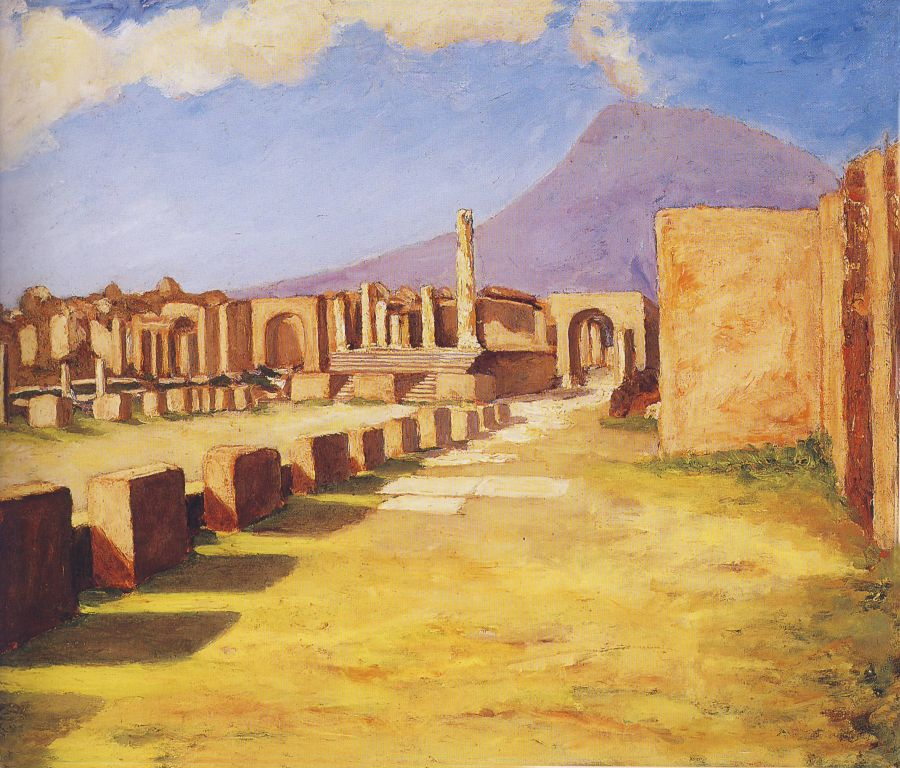 + 1921  Везувий, Помпеи.png