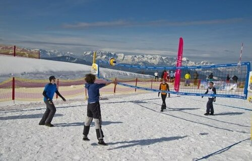 "Турнир «Igora Snow Volley-2014» на курорте ""Игора"""