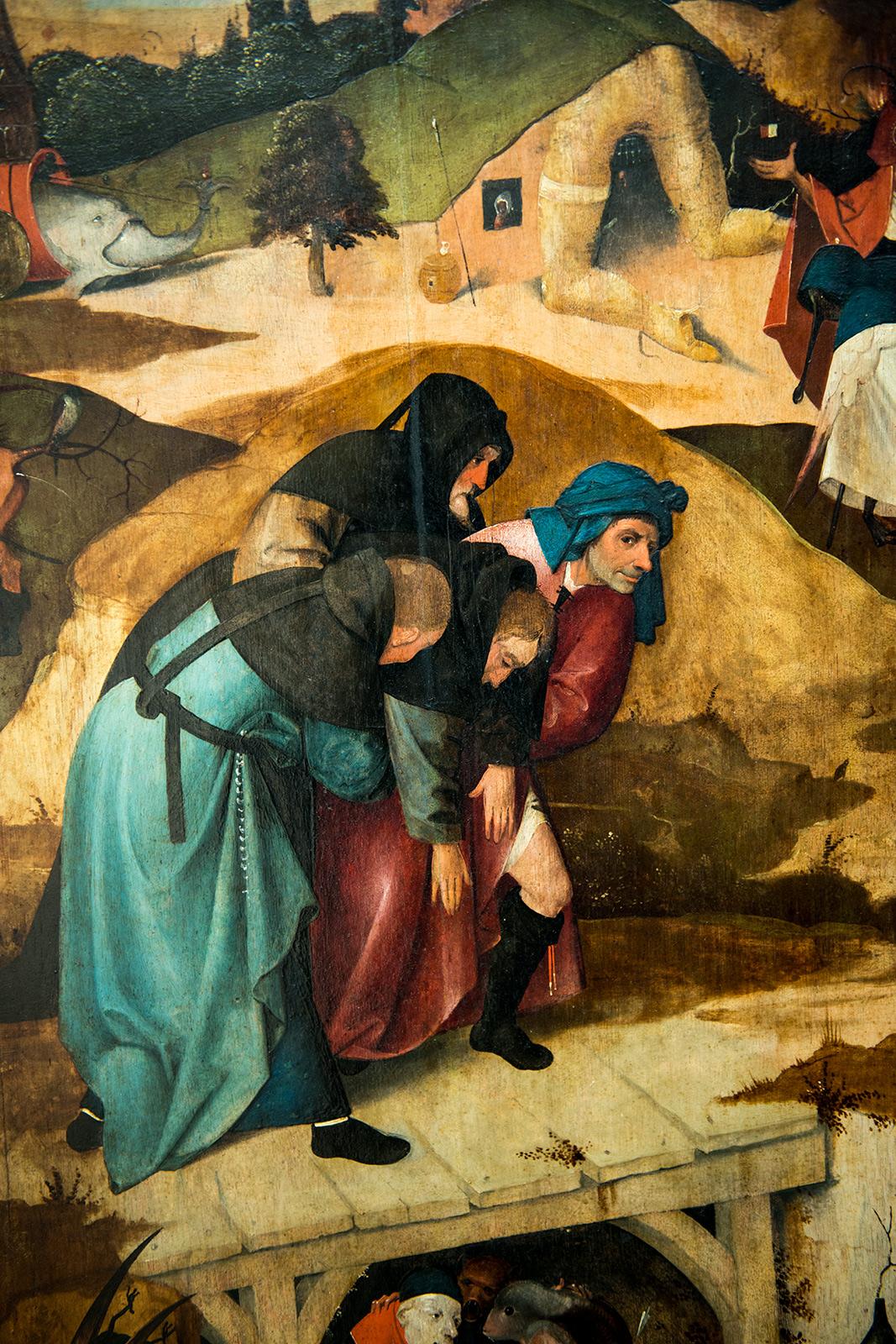 Détail du triptyque de la tentation de saint AntoineDétail du triptyque de la tentation de saint Antoine - Hieronymus Bosch -
