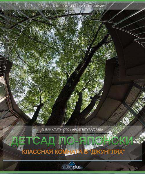"""Ring Around a Tree"" - детсад/класс/спортзал. Япония. Токио"