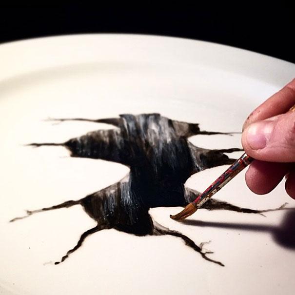 Пларт - новый вид изобразительного искусства от Жаклин Пуарье