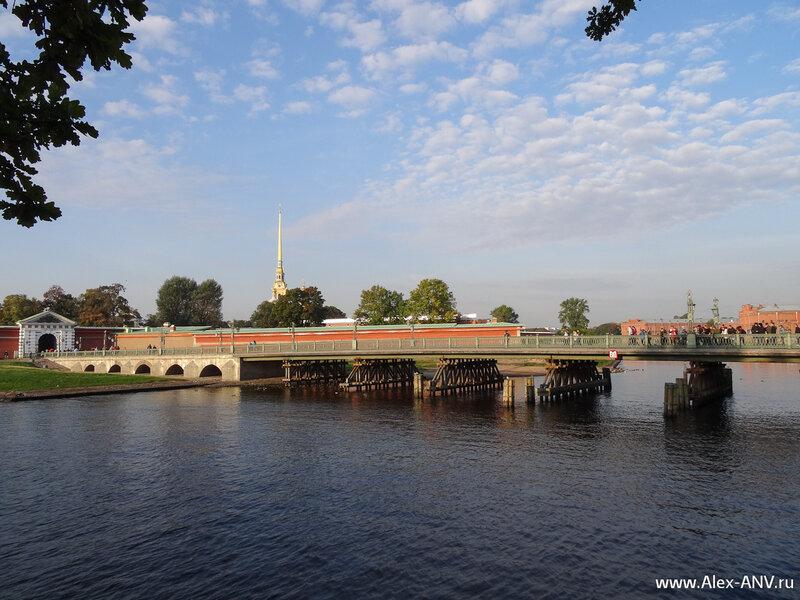 Иоанновский мост на Заячий остров