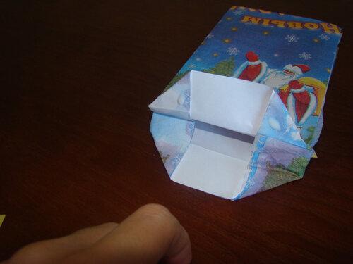 Мастер класс по изготовлению подарочного крафт-пакета