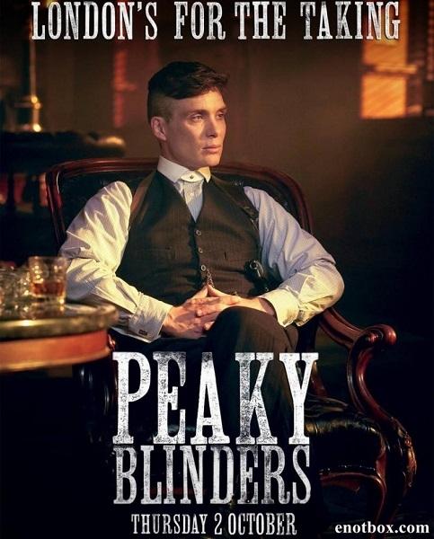Острые козырьки (Заточенные кепки) / Peaky Blinders - Полный 2 сезон [2014, HDTVRip | HDTV 720p] (LostFilm)