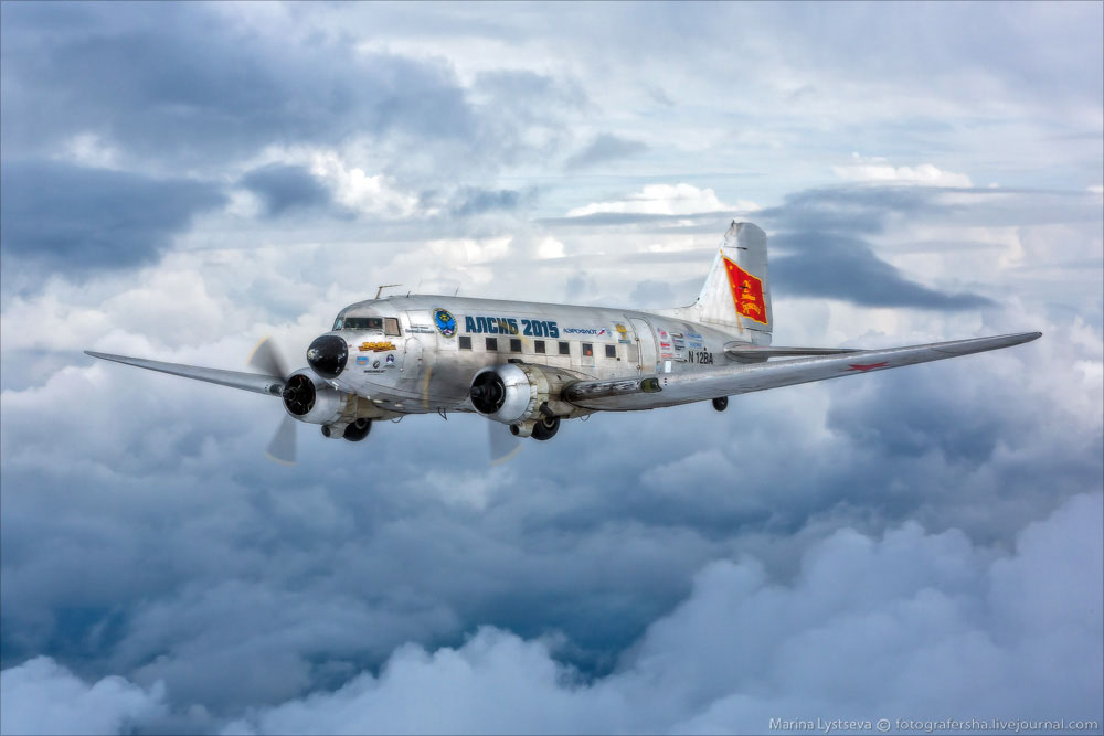 DC3 воздушная съемка