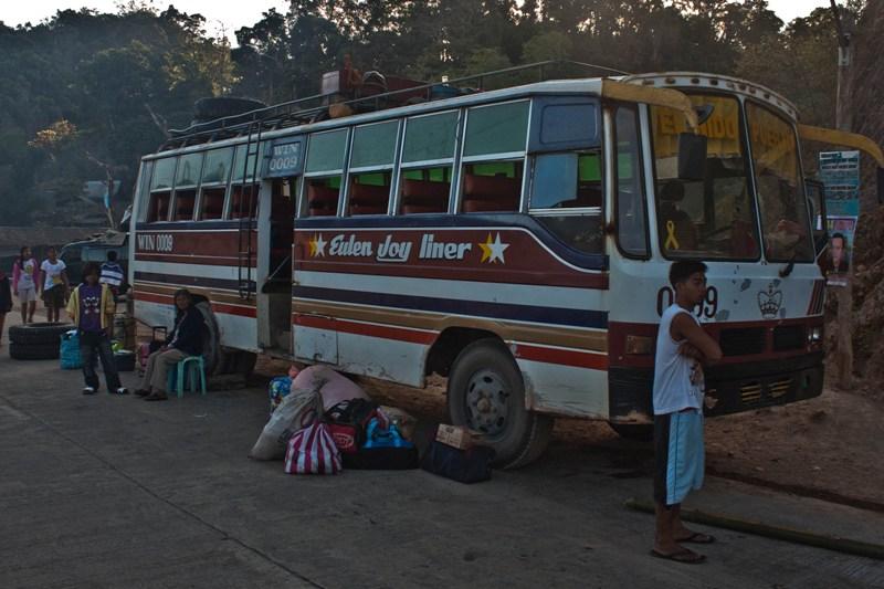 Филиппины, переезд из Эль-Нидо в Сабанг