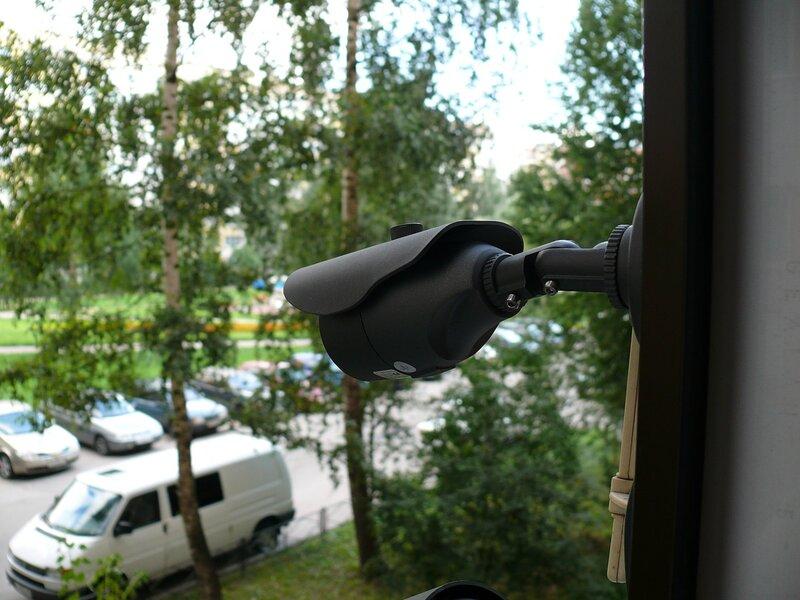 Организовать видеонаблюдение с балкона за машиной видеорегистратор автомобильный купить в орше