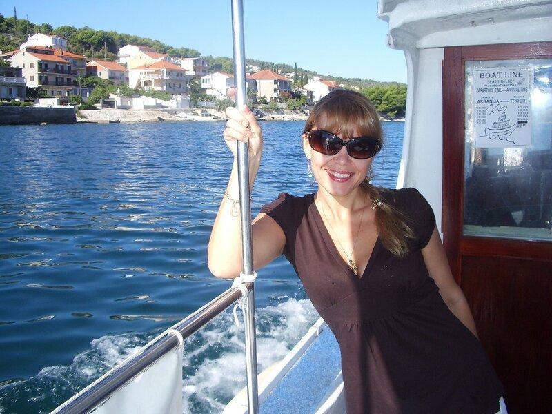 Лодка в Хорватии (Boat in Croatia)