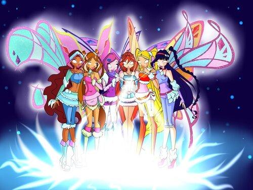 Конкурс WINX №2, найди друзей и арты с феями!