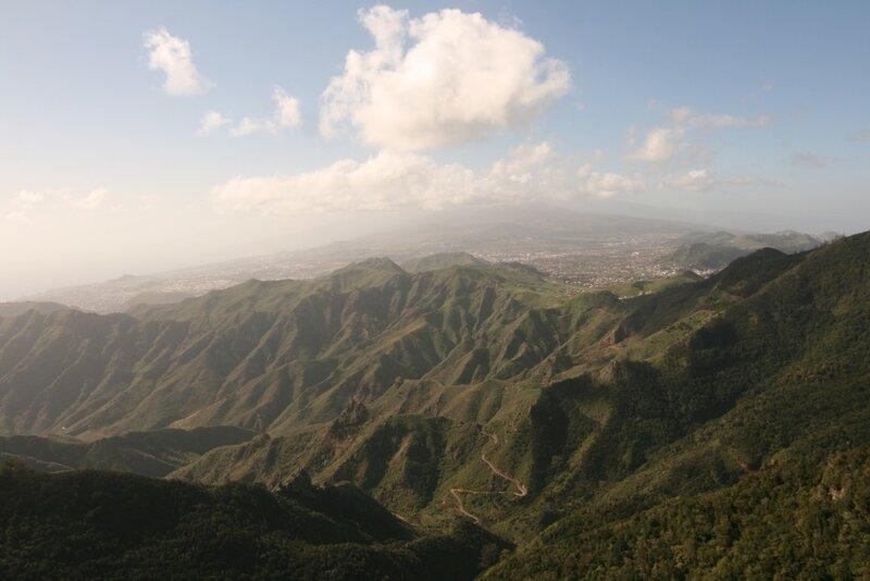 Тенерифе, горы Анага, мирадор Пико Инглес