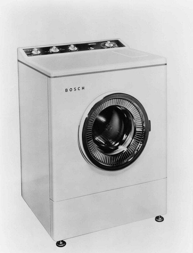Первая автоматическая стиральная машина Bosch, 1960