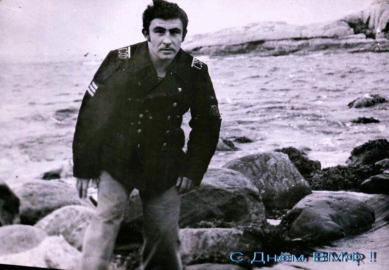 Берег Баренцева моря. 1977 год.