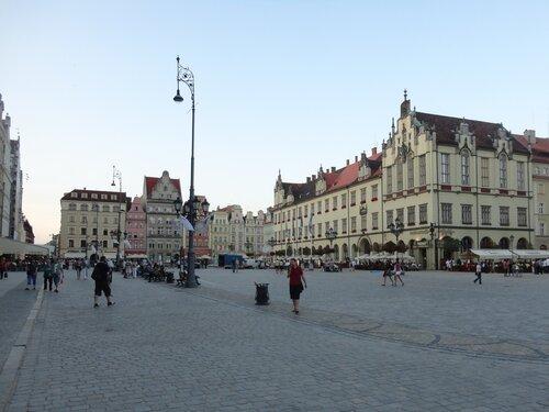 Вроцлав ратушная площадь