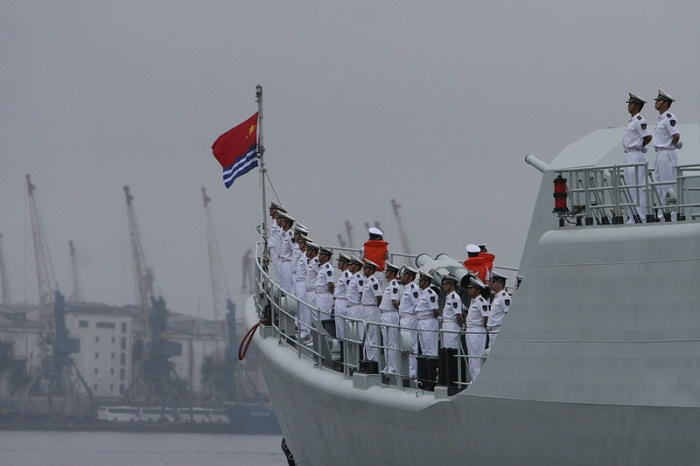 Во Владивосток с неофициальным визитом прибыл отряд кораблей военно-морских сил Китая