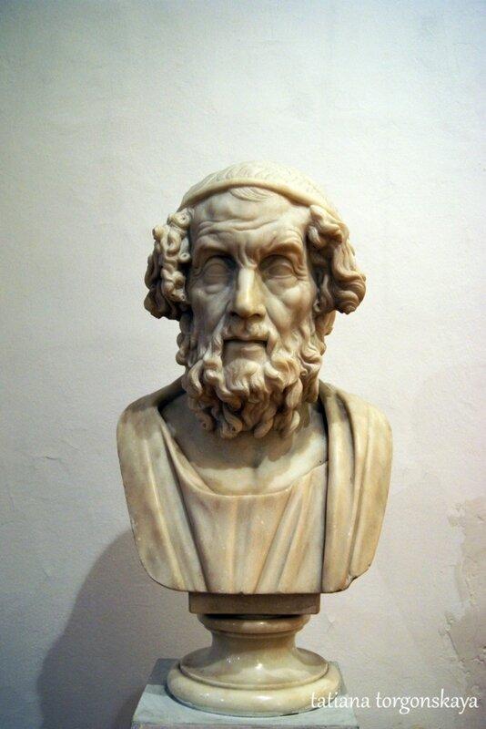 Бюст Гомера (2 век)